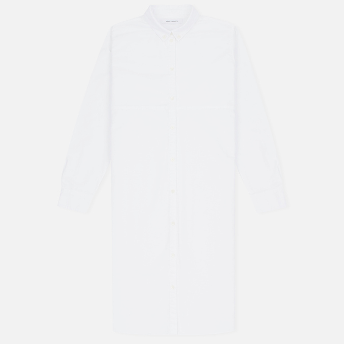 Женская рубашка Norse Projects Martina Oxford White