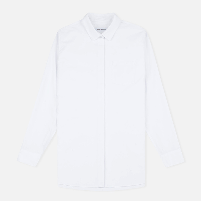 Женская рубашка Norse Projects Maud Cotton Poplin White