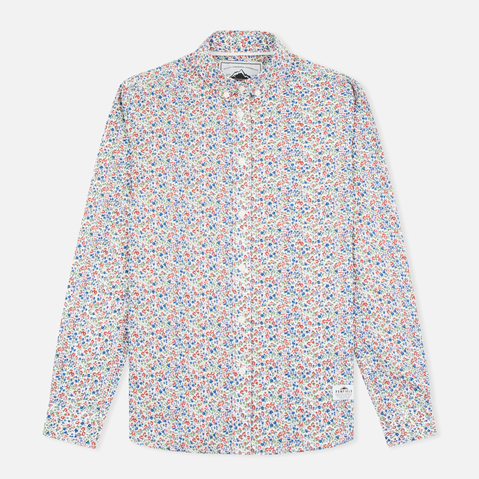 Женская рубашка Penfield Eckert Floral Blue