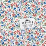 Penfield Eckert Floral Women's Shirt Blue photo- 5