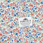 Женская рубашка Penfield Eckert Floral Blue фото- 5