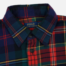 Женская рубашка Polo Ralph Lauren Contrast Plaid Cotton Multicolor фото- 1