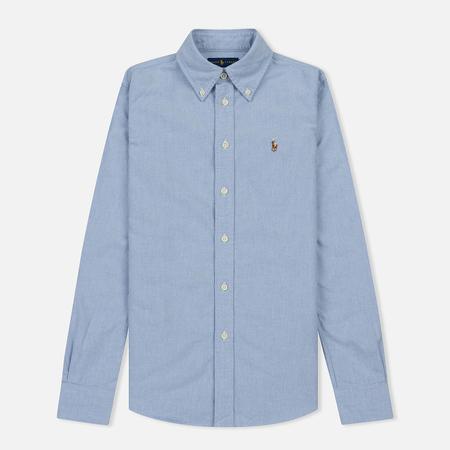 Женская рубашка Polo Ralph Lauren Harper Washed Oxford Custom Fit Blue