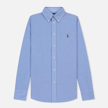 Женская рубашка Polo Ralph Lauren Heidi Oxford Slim Fit Harbor Island Blue