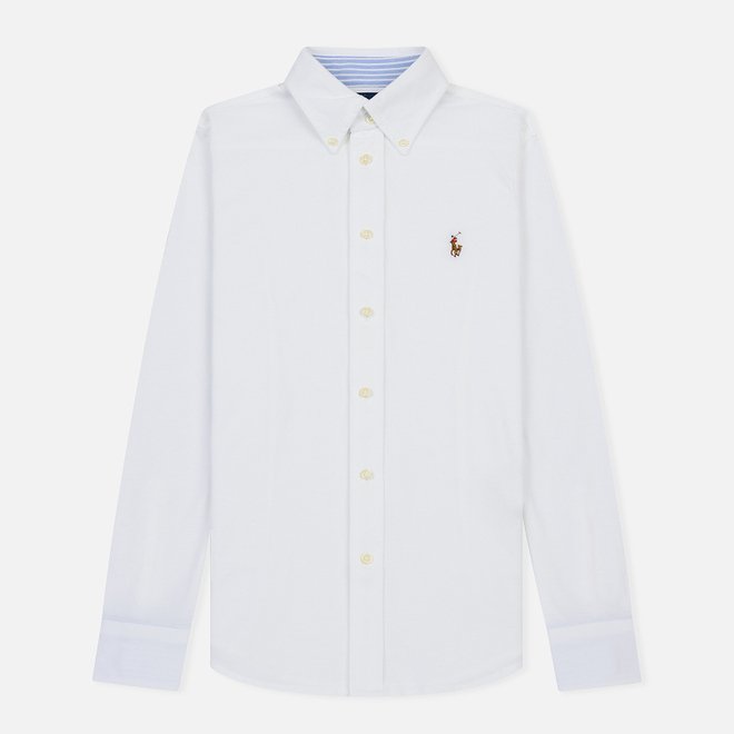 Женская рубашка Polo Ralph Lauren Heidi Oxford Slim Fit White