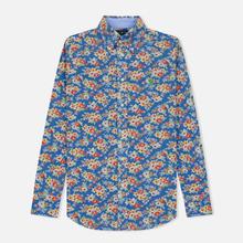Женская рубашка Polo Ralph Lauren Heidi Printed Oxford Blue Floral фото- 0