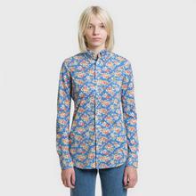 Женская рубашка Polo Ralph Lauren Heidi Printed Oxford Blue Floral фото- 1