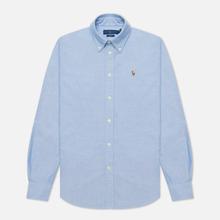 Женская рубашка Polo Ralph Lauren Kendal Washed Oxford Slim Fit Blue фото- 0