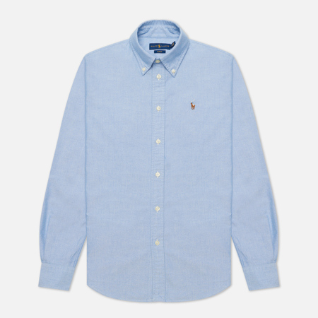 Женская рубашка Polo Ralph Lauren Kendal Washed Oxford Slim Fit Blue