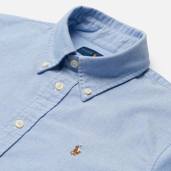 Женская рубашка Polo Ralph Lauren Kendal Washed Oxford Slim Fit Blue