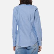 Женская рубашка Polo Ralph Lauren Kendal Washed Oxford Slim Fit Blue фото- 3