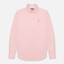 Женская рубашка Polo Ralph Lauren Kendal Washed Oxford Slim Fit Pink фото- 0
