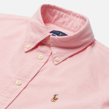 Женская рубашка Polo Ralph Lauren Kendal Washed Oxford Slim Fit Pink фото- 1