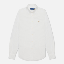 Женская рубашка Polo Ralph Lauren Kendal Washed Oxford Slim Fit White фото- 0