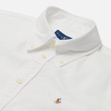 Женская рубашка Polo Ralph Lauren Kendal Washed Oxford Slim Fit White фото- 1