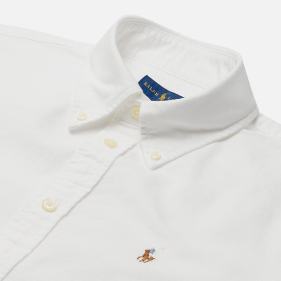 Женская рубашка Polo Ralph Lauren Kendal Washed Oxford Slim Fit White