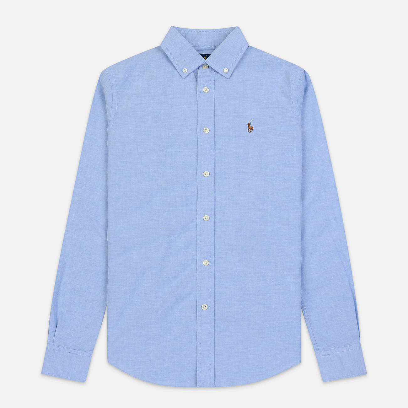 Женская рубашка Polo Ralph Lauren Kendall Oxford Slim Fit Blue Hyacinth