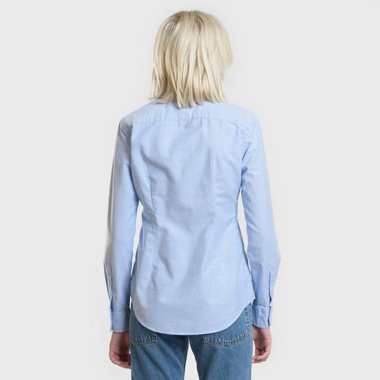 Женская рубашка Polo Ralph Lauren Kendall Oxford Slim Fit Blue Hyacinth