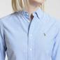 Женская рубашка Polo Ralph Lauren Kendall Oxford Slim Fit Blue Hyacinth фото - 2