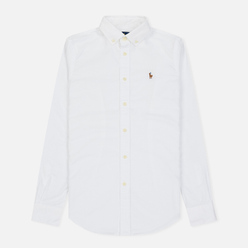 Женская рубашка Polo Ralph Lauren Kendall Oxford Slim Fit White