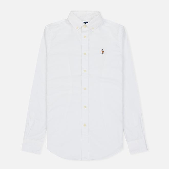 Женская рубашка Polo Ralph Lauren Kendall Oxford Slim Fit White