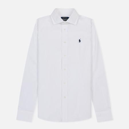 Женская рубашка Polo Ralph Lauren Kendall Stretch Poplin Slim Fit White
