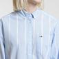 Женская рубашка Tommy Jeans Stripe Detail Serenity/Classic White фото - 2