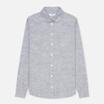 Женская рубашка YMC Brushed Blue фото- 0