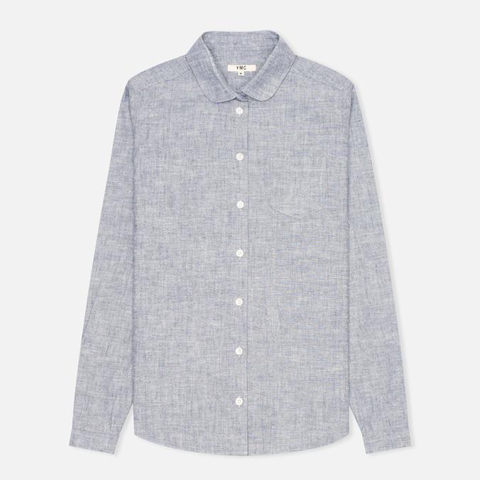 Женская рубашка YMC Brushed Blue