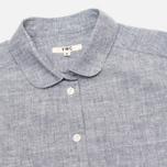 Женская рубашка YMC Brushed Blue фото- 1