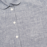 Женская рубашка YMC Brushed Blue фото- 2