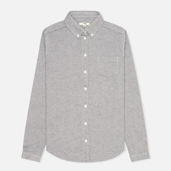 Женская рубашка YMC Button Down Navy Cream