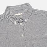 Женская рубашка YMC Button Down Navy Cream фото- 1