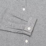 Женская рубашка YMC Button Down Navy Cream фото- 3