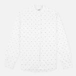Женская рубашка YMC Dot Poplin White фото- 0