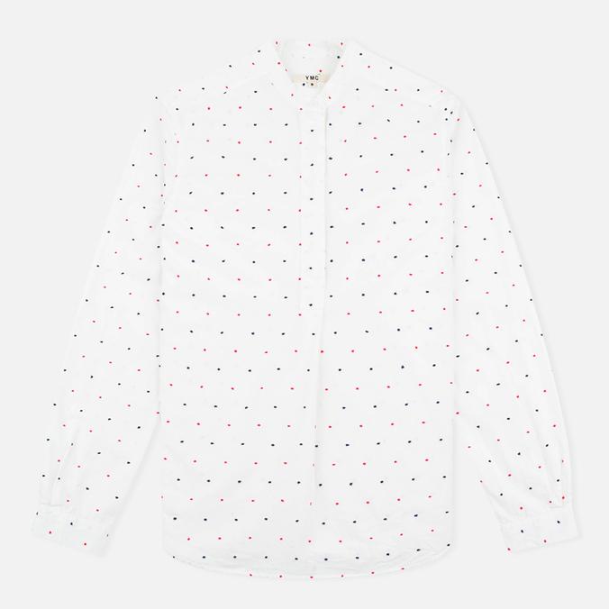 Женская рубашка YMC Dot Poplin White