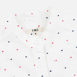 Женская рубашка YMC Dot Poplin White фото- 1