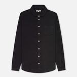 Женская рубашка YMC Herringbone Black фото- 0