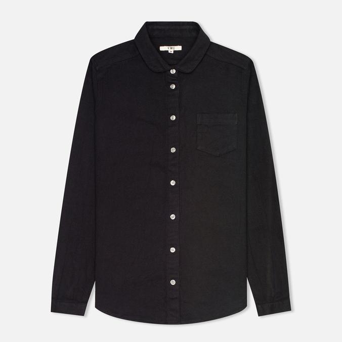 Женская рубашка YMC Herringbone Black