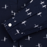 Женская рубашка YMC Ikat Navy фото- 2