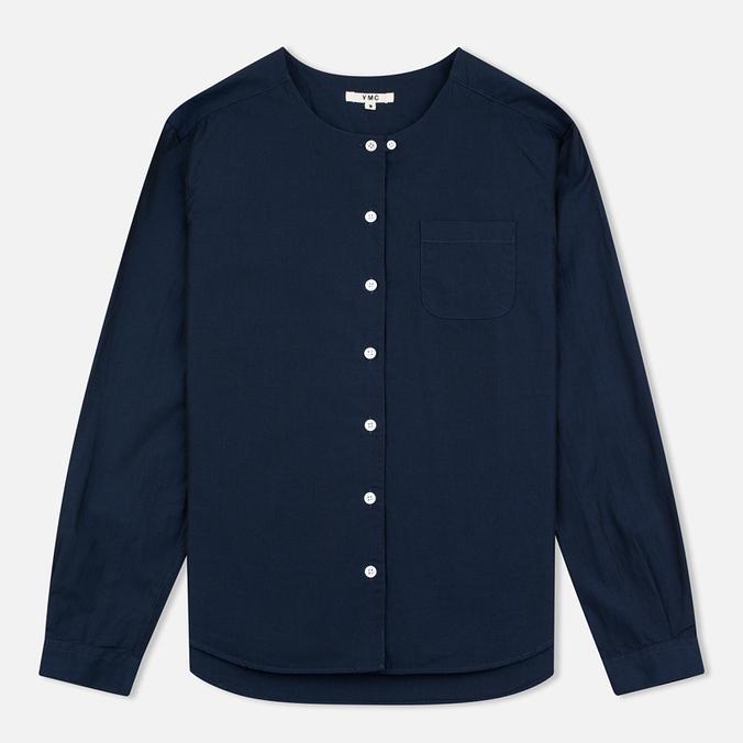 Женская рубашка YMC Japanese Navy