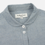 Женская рубашка YMC Marianne Slub Cotton Blue фото- 1