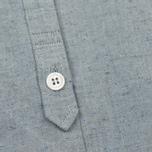 Женская рубашка YMC Marianne Slub Cotton Blue фото- 2