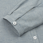 Женская рубашка YMC Marianne Slub Cotton Blue фото- 3