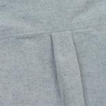 Женская рубашка YMC Marianne Slub Cotton Blue фото- 4