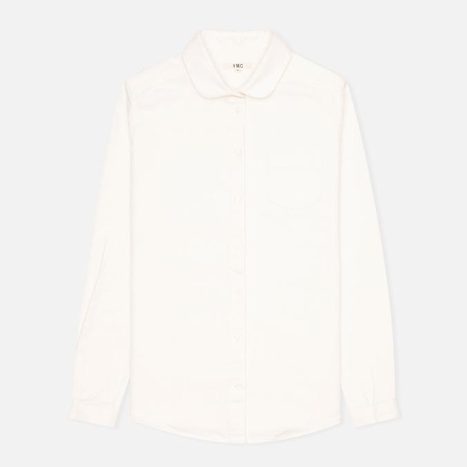 Женская рубашка YMC Oxford Cream