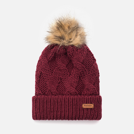 Женская шапка Barbour Ashridge Beanie Carmine