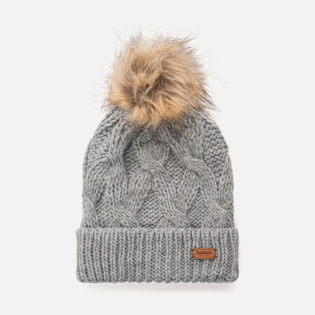 Женская шапка Barbour Ashridge Beanie Grey