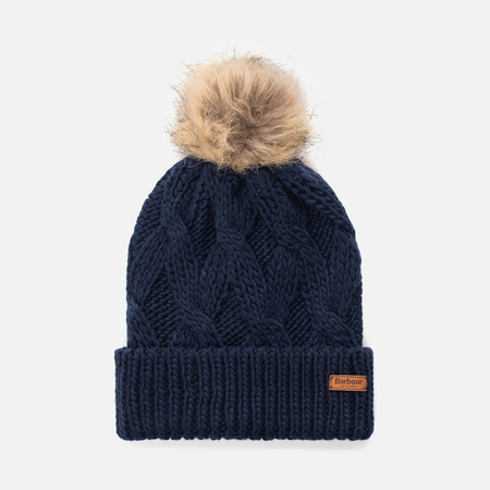 Женская шапка Barbour Ashridge Beanie Navy