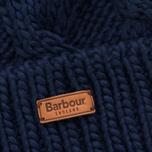 Женская шапка Barbour Ashridge Beanie Navy фото- 1